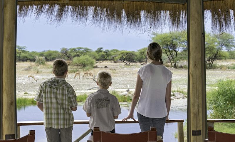 Children at Onguma Bush Camp
