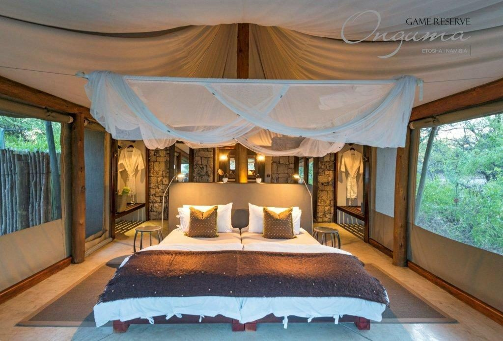 Onguma Tented Camp tent interior