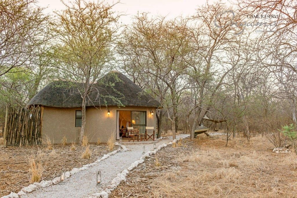 Quietly secluded Explorer bungalow at Onguma Etosha Aoba