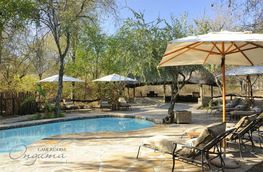 Relax in the afternoon at Onguma Etosha Aoba