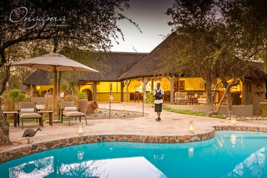 Swimming pool at Onguma Etosha Aoba