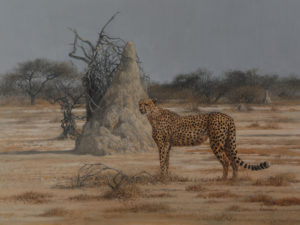 Artwork by Peter Grey Onguma Safari Camps