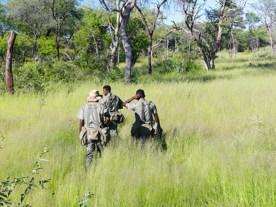 The Onguma Anit-poaching unit deployed in the reserve